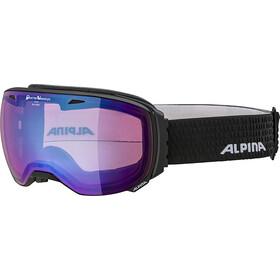Alpina Big Horn QVMM Maschera, nero/blu